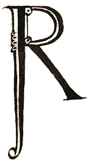 'R' from the Exeter book